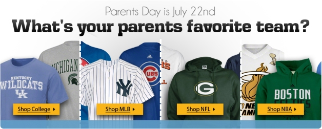 Parents Day: July 22nd