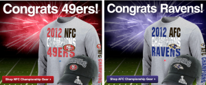 49ers and Ravens will Conference Titles