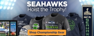 Seattle Seahawks Championship Gear!